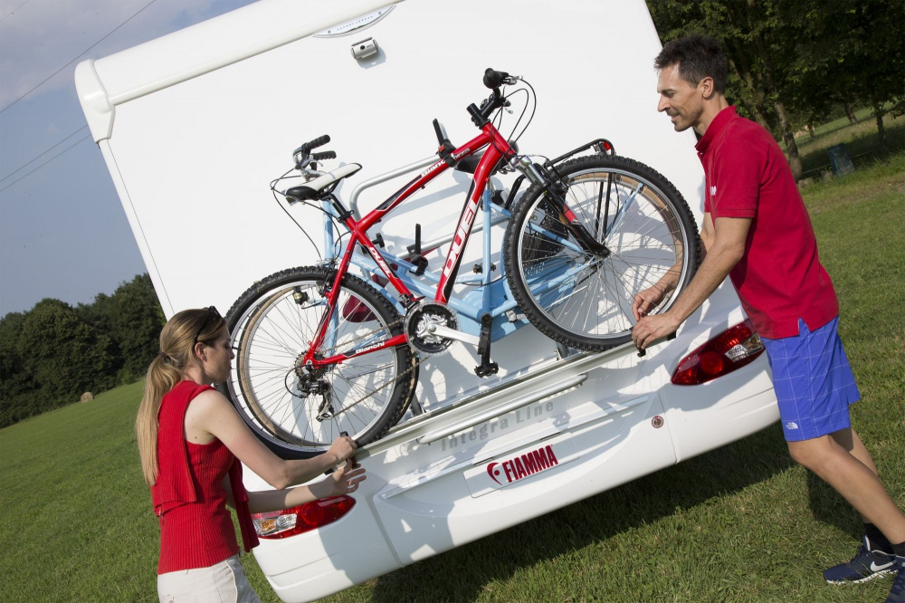 Fiamma Quick Rail Extra Cycle Carry Bike Rack Caravan Motorhome